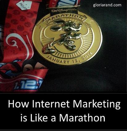 online marketing marathon