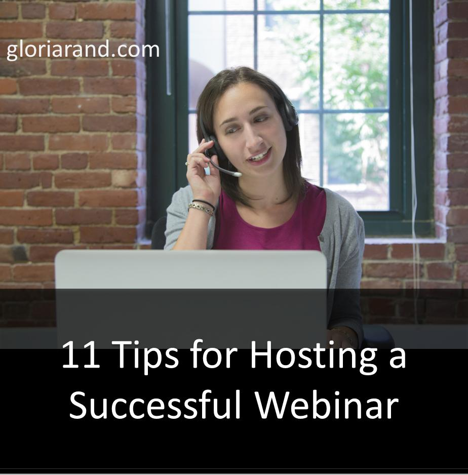 hosting a webinar