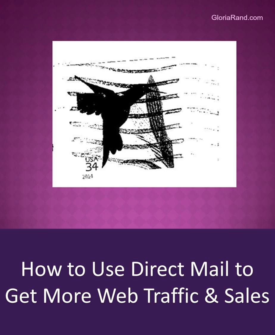 direct mail for web traffic