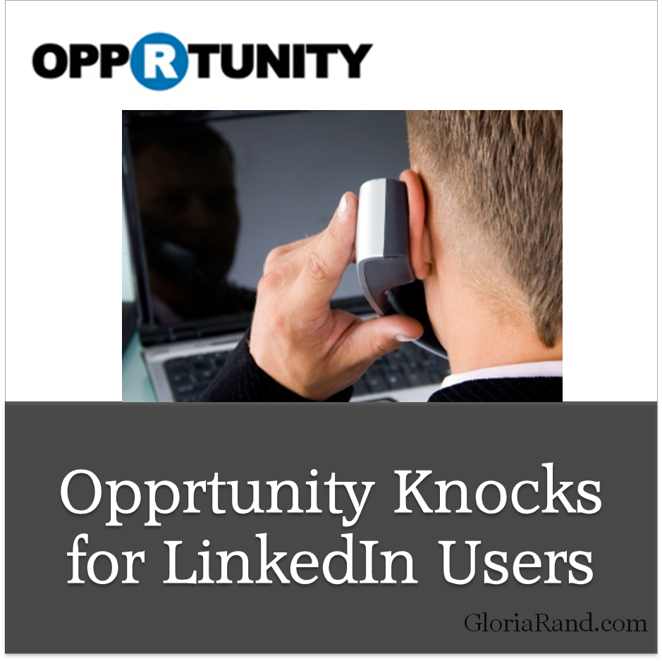 Opprtunity for LinkedIn Users