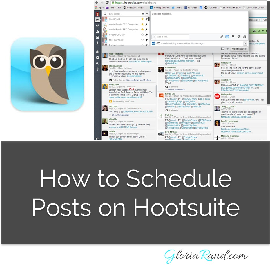 How to Schedule on Hootsuite