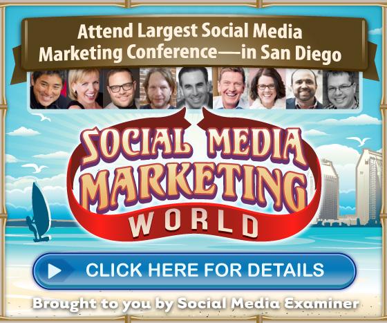 Attend Social Media Marketing World 2015