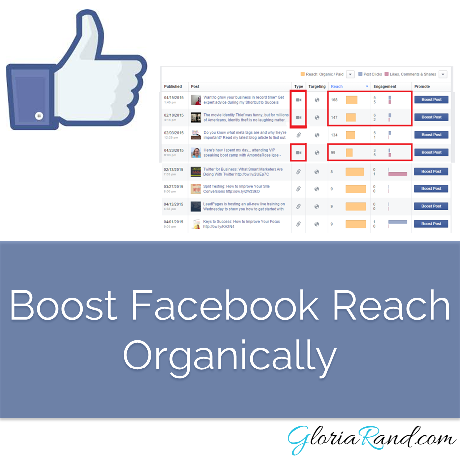 boost facebook reach