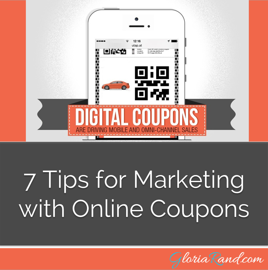 marketing with online coupons