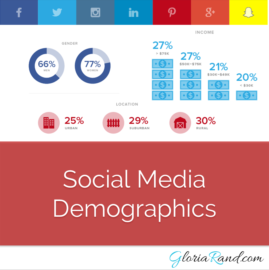 demographics of top social networking sites