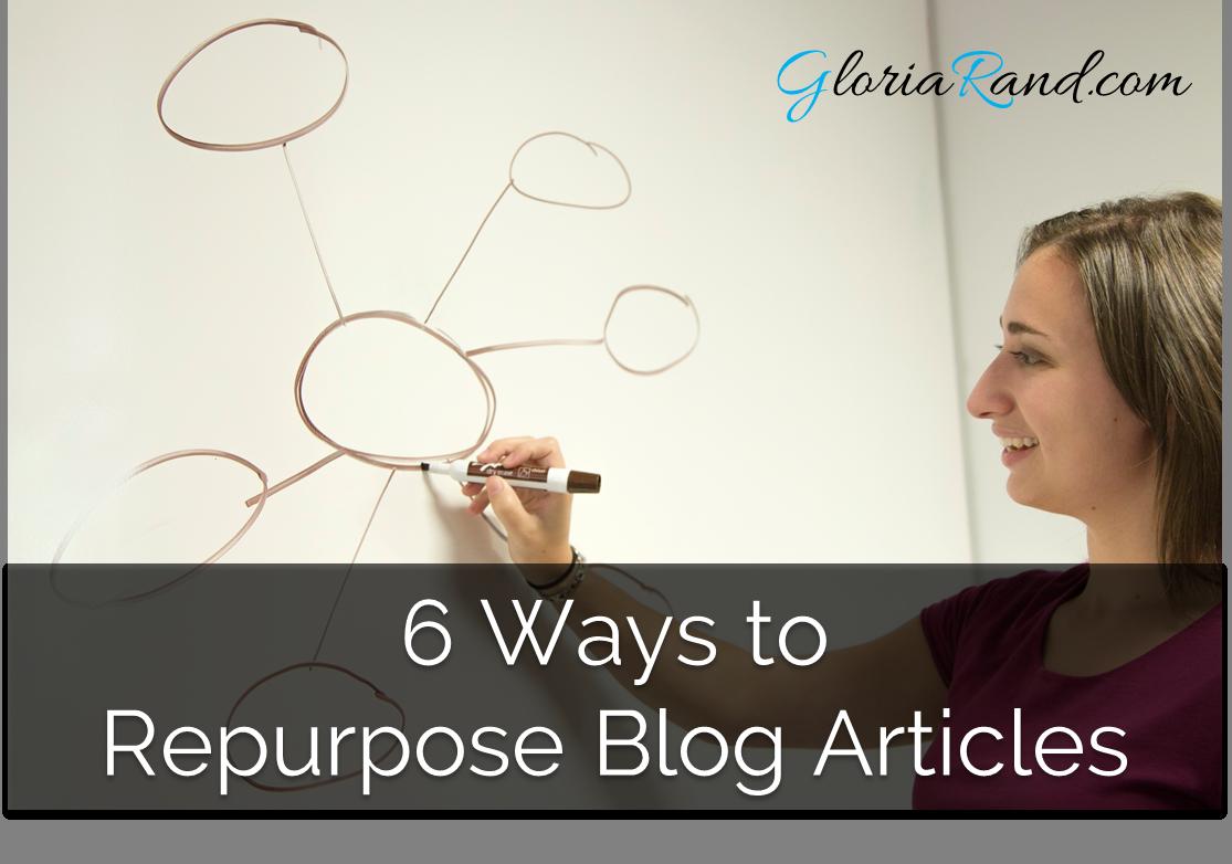 repurpose blog articles