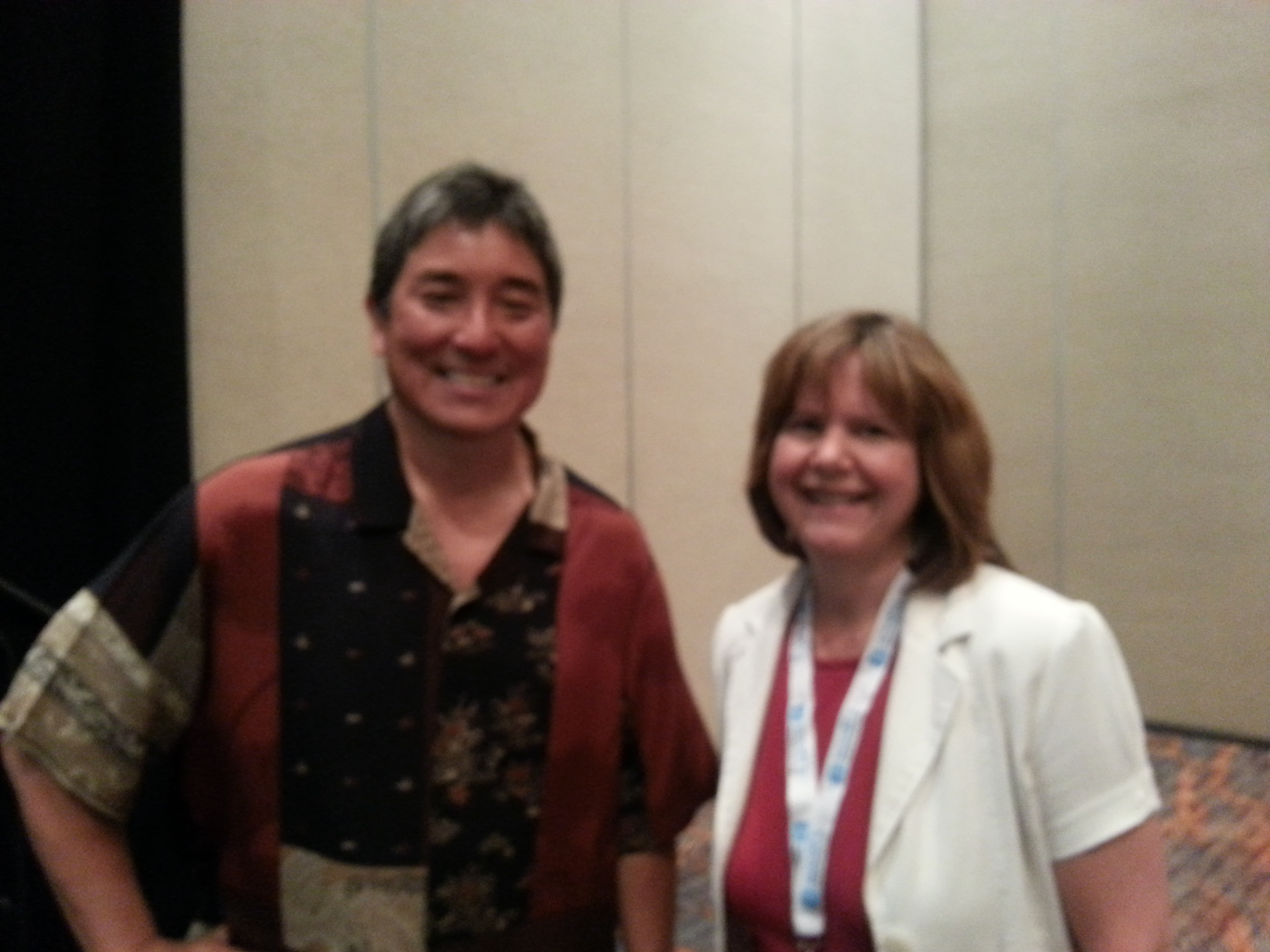 Guy Kawasaki and Gloria Rand