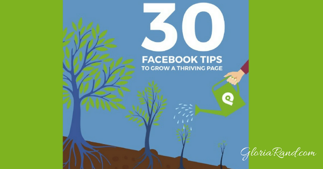 30 Days of Facebook Page tips