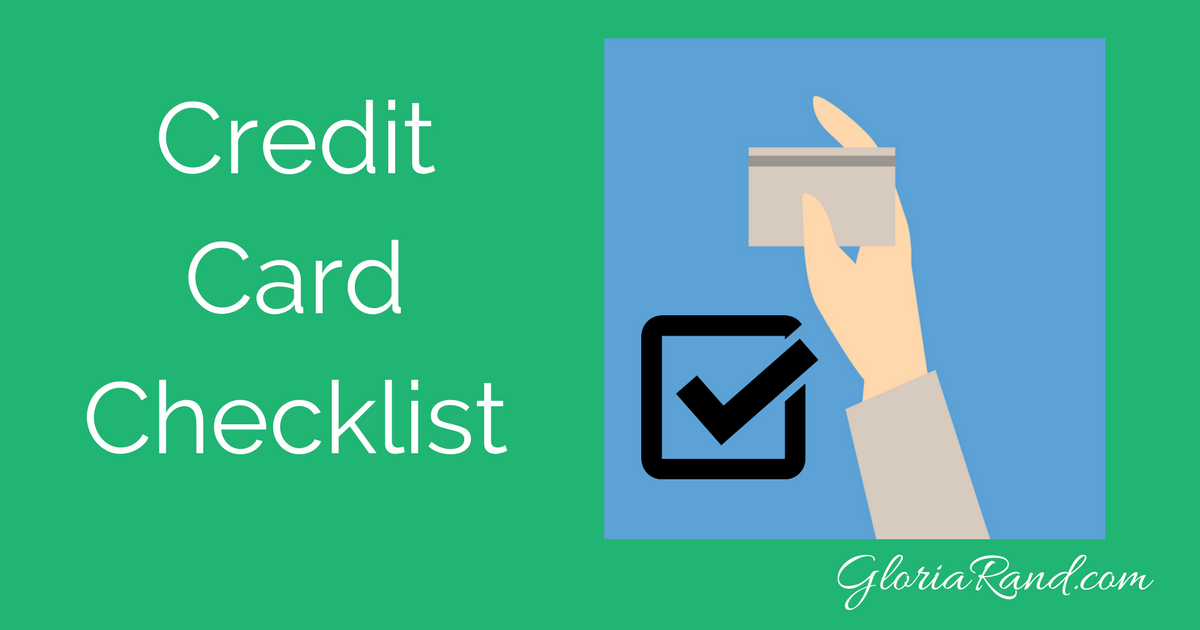 Checklist what your business needs to know about credit for Credit card acceptance for small business