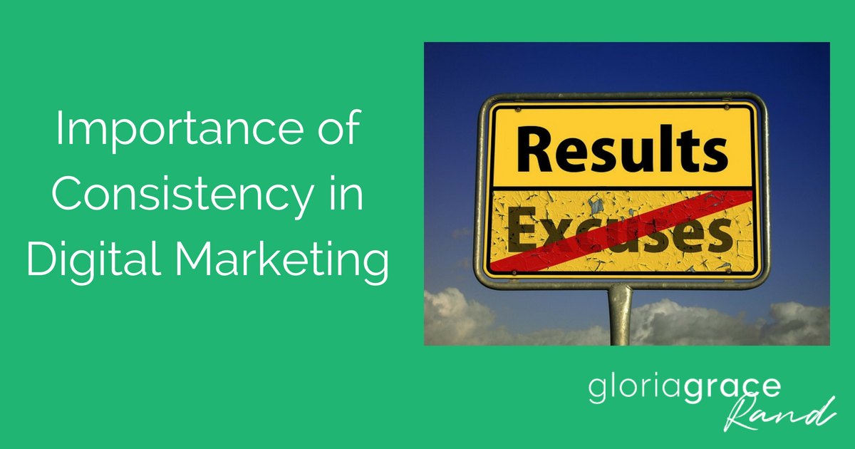 consistency in digital marketing