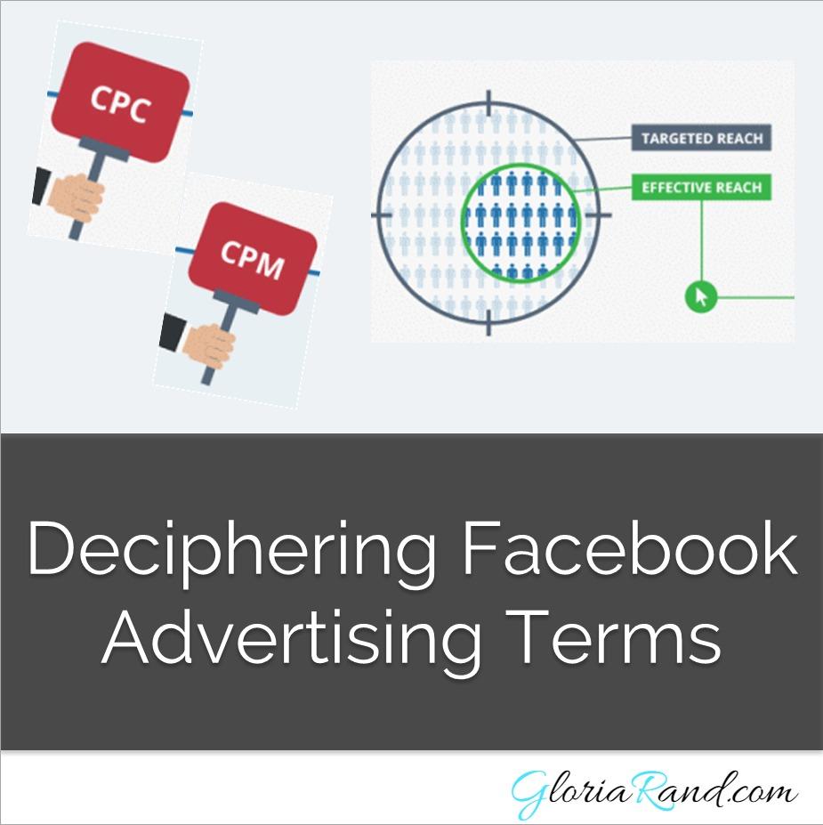 Facebook advertising terms