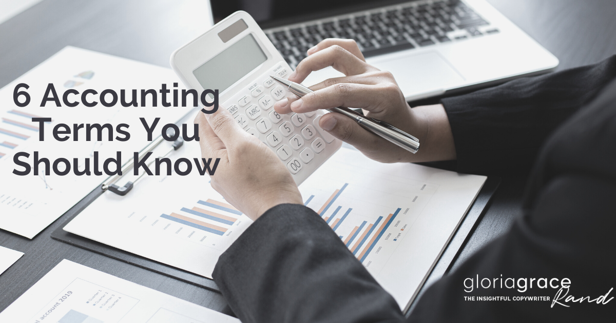 accounting terms you should know