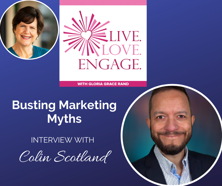 busting marketing myths with Colin Scotland