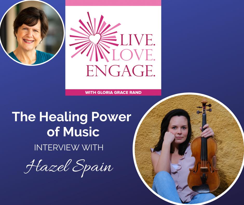 healing power of music hazel spain