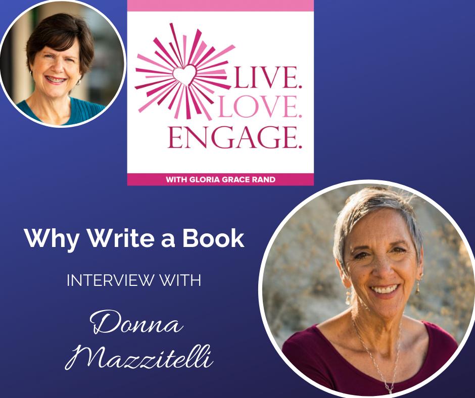 why write a book donna mazzitelli